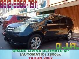 Grand Livina Ultimate XP 1800cc (matic)
