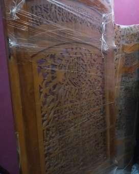 Sekatan dari kayu jati asli