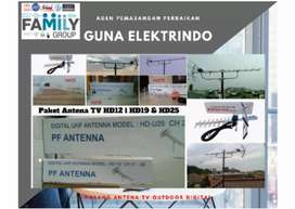 Jual antena tv digital + pemasangan lokasi dekat Pamijahan