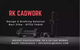 Weight Calculation & AutoCAD Drawing work