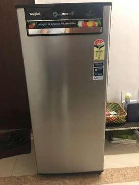 Whirlpool 215 L , 4 star, auto defrost refrigerator