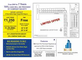 Free EMI for 7 Year 30% Registration amount and 70% Company Bank Loan