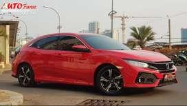 All New Honda Civic Turbo 1.5 E CVT Hatchback 2018 Akhir Siap Pakai!!!