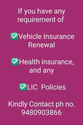Vehicle and health insurance who are in needs