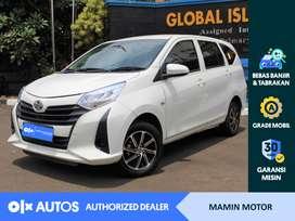 [OLXAutos] Toyota Cayla 2019 1.2 E M/T Putih #Mamin Motor