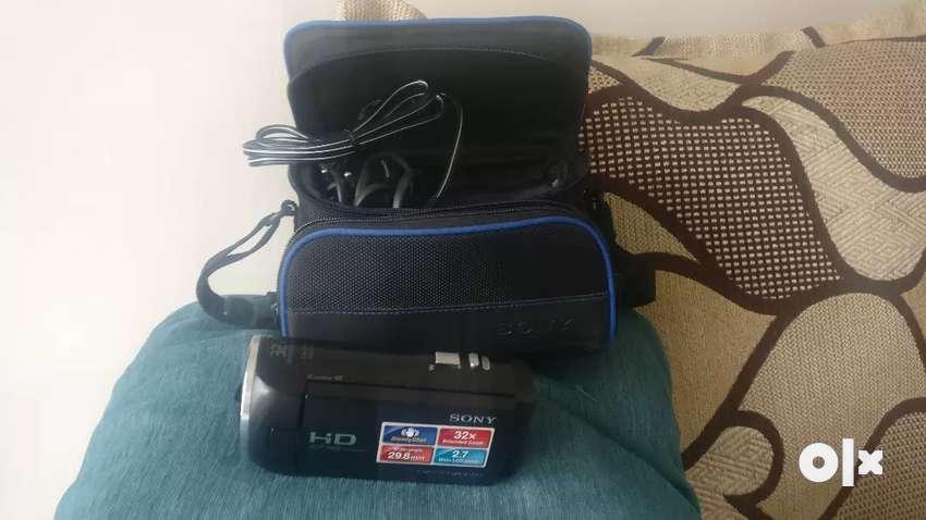 Sony Handycam - HD -AVCHD Progressive (HDR-CX220E) 0
