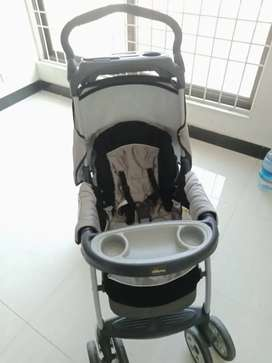 Imported baby stroller slightly used