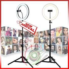 TRIPOD RINGG LIGHT 2.1 meter photo dimmable studio camera light
