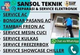 Service AC KULKAS 2 Pintu Servis Mesin Cuci Candi Sidoarjo
