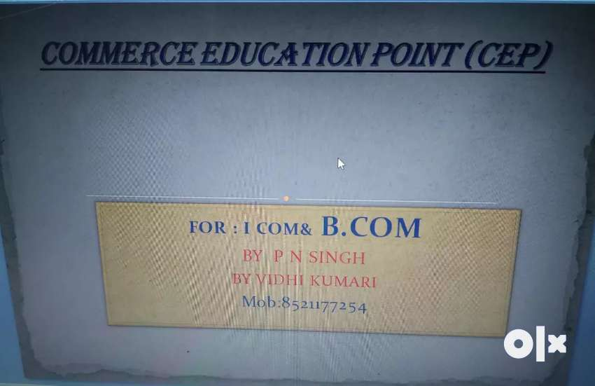Commerce Education point (also Home tuition are available )