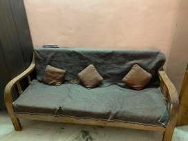 New 5 seater sofa of pure teak