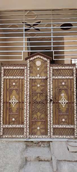 Main iron door