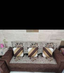 Sofa 3+2 and Dining Set of 6 Person