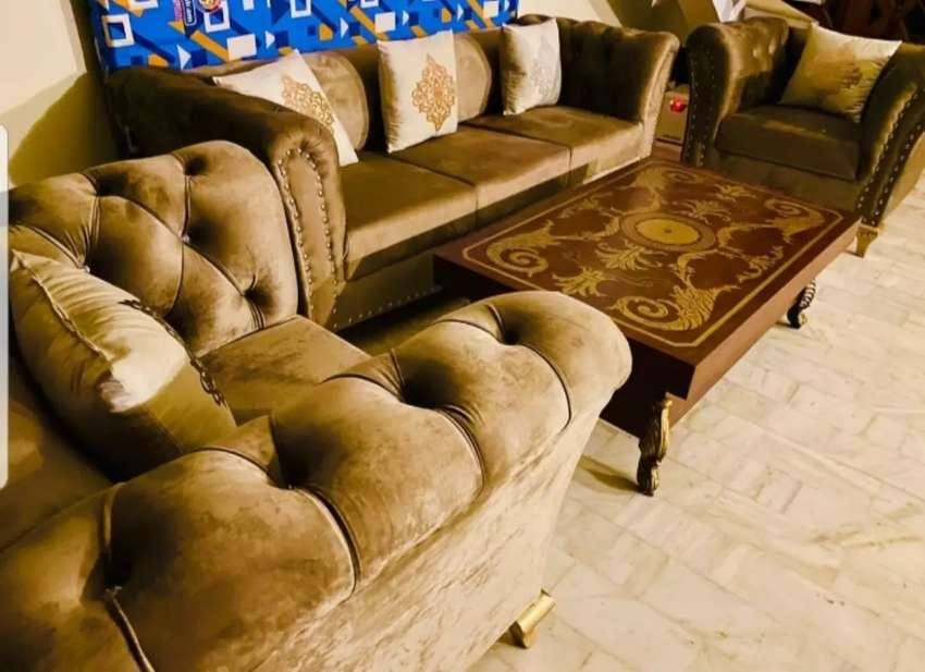 Zartash 5 Seater Luxurious sofa and other home furniture 0