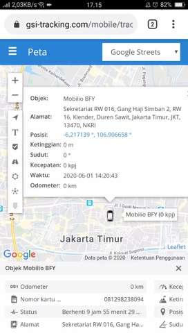 GPS TRACKER gt06n terbaik/termurah di cipanas banten