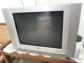 LG TV 21inc flatt bening siap tonron saja