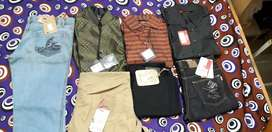 Brand new shirts and jeans for just rs 150