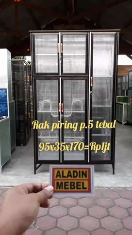 Rak piring pintu 5 tebal ready aladin Sidoarjo Balongbendo 0310