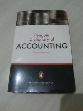 Penguin Dictionary of ACCOUNTING.
