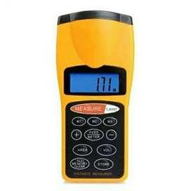 Ultrasonic Digital Laser Distance Meter Alat Pengukur/Ukur Jarak