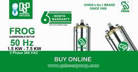 Home Submersible Water Pump. 2 HP Submersible Motor Pump. 6 Months