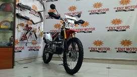 Kawasaki KLX 150 2019   km 4000 motor trail masa kini