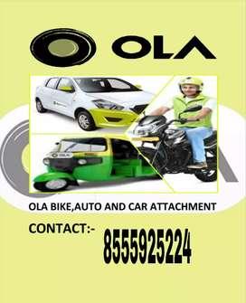 Ola bike,auto, car attachments
