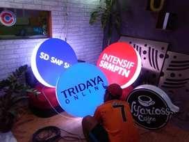 Neon Box Murah Free Design Neonbox Acrylic Backlite Melayani Smua Bali
