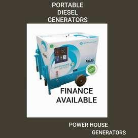 Greaves manufactures Industrial portable generator set 5KVA