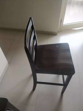 Rubber wood - Quality Four Bar chairs @ Rs 5000/- each.