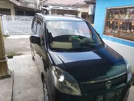 Dijual cepat Mobil Suzuki Wagon R Gl hitam manual