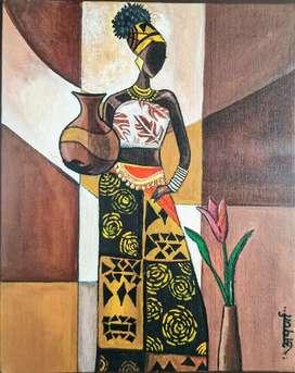 Masai painting
