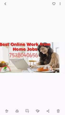 Online copy&Paste work