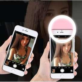 Lampu LED Selfie Bisa Recharging