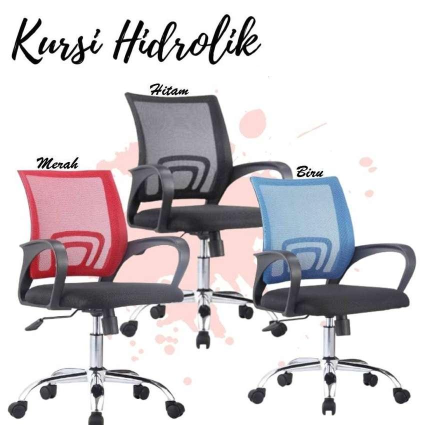 Kursi Kantor Jaring Kursi Hidrolik Staff Multifungsi Office Mesh Chair