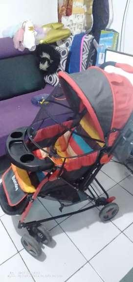 Jual stroller baby does