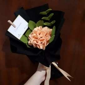 Bouquet Bunga Artificial Flower Orange