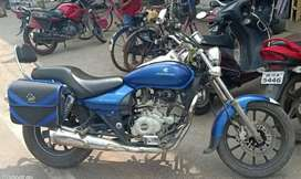 Bajaj Avenger 220 Cruze Model with alloy wheels