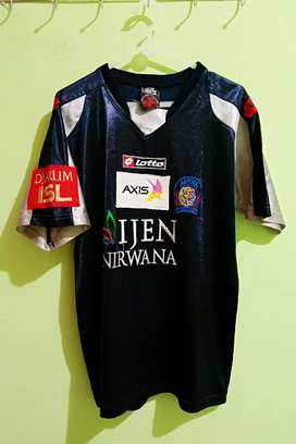 Jersey baju bola merk City of Arema Origianal size M Int fit L Bagus