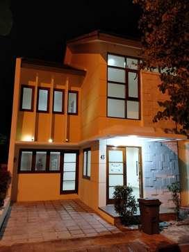 Rumah Townhouse Awana At 43 pemilik murah nego baru renovasi