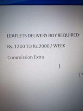 Distribution of leaflets in Cuttack, Bhubaneswar
