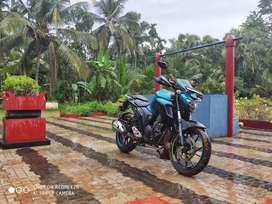 Fz 250cc motorbike , no cmplnt,Iam selling my bike good condition