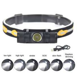Senter Kepala Headlamp Flashlight Headlight LED XML L2 EHL0628 BORUIT