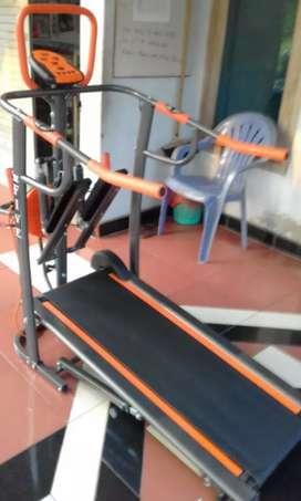 8 fungsi treadmill manual non listrik prinsporty