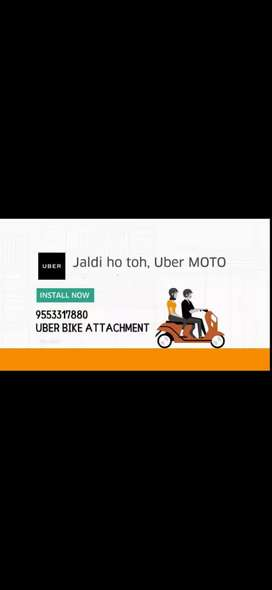 Uber and rapido attchment