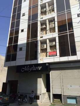 538sqf brand new office 3rd floor available for rent in Bukhari Comm