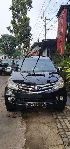 Toyota avansa E rasa G 2012 pjk klwt 2th
