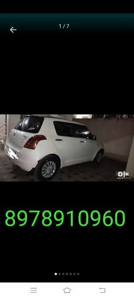 Swift car for rent with driver or self driving 24×7