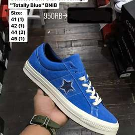 "Original  Converse One Star OX Vintage  ""Totally Blue"" BNIB"