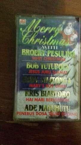 Kaset pita merry christmas with